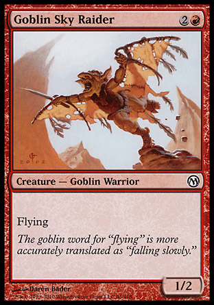 Goblin Sky Raider, Duels of the Planeswalkers