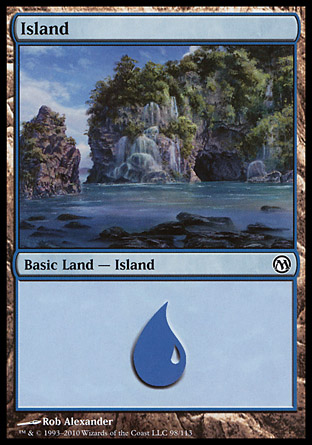 Island, Duels of the Planeswalkers