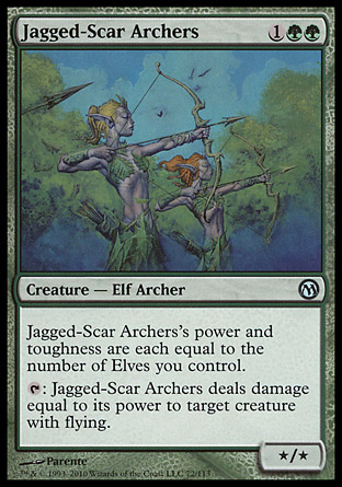 Jagged-Scar Archers, Duels of the Planeswalkers