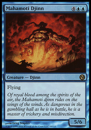 Mahamoti Djinn, Duels of the Planeswalkers