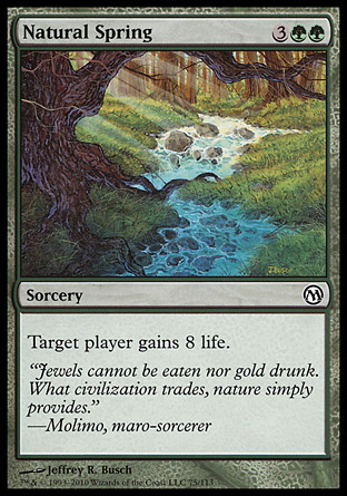 Natural Spring, Duels of the Planeswalkers