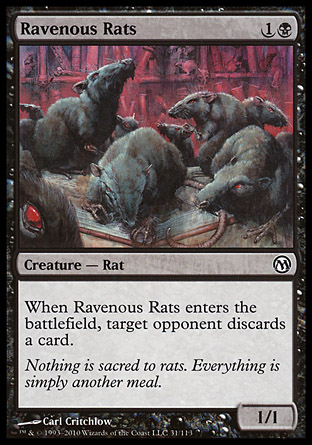 Ravenous Rats, Duels of the Planeswalkers