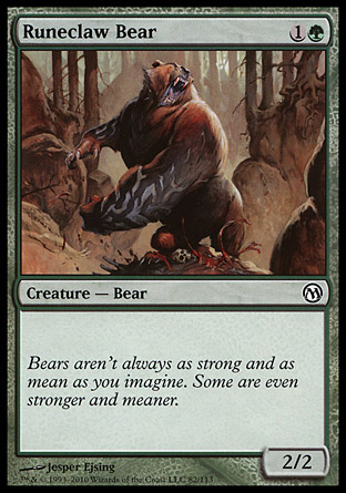 Runeclaw Bear, Duels of the Planeswalkers