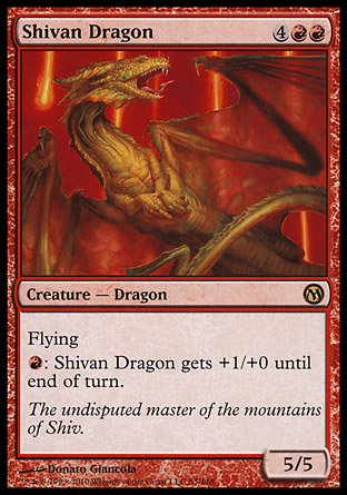 Shivan Dragon, Duels of the Planeswalkers