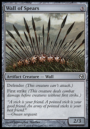 Wall of Spears, Duels of the Planeswalkers