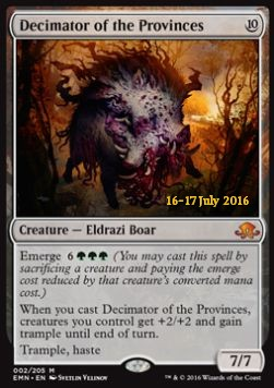 Decimator of the Provinces, Eldritch Moon Promos