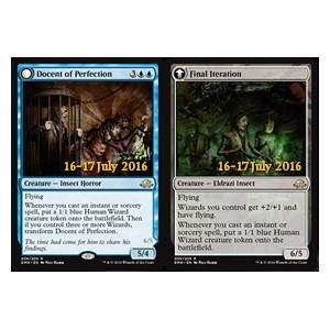 Docent of Perfection / Final Iteration, Eldritch Moon Promos