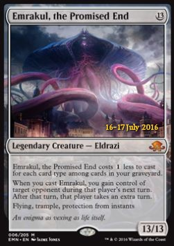Emrakul, the Promised End, Eldritch Moon Promos