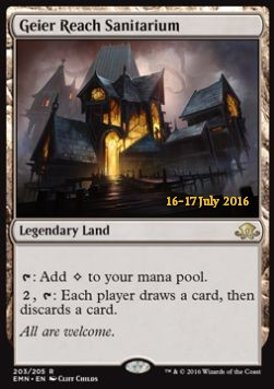 Geier Reach Sanitarium, Eldritch Moon Promos