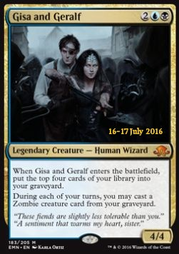 Gisa and Geralf, Eldritch Moon Promos