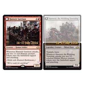 Hanweir Garrison / Hanweir, the Writhing Township, Eldritch Moon Promos