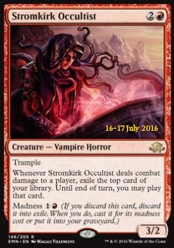 Stromkirk Occultist, Eldritch Moon Promos
