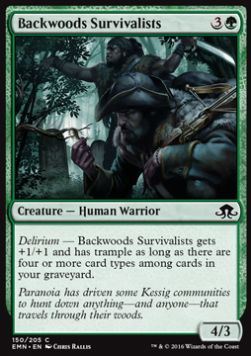 Backwoods Survivalists, Eldritch Moon