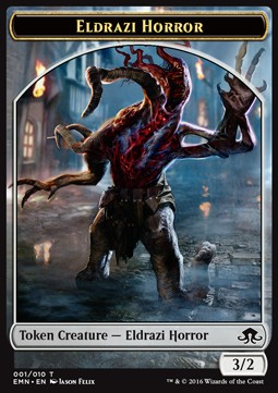 Eldrazi Horror Token, Eldritch Moon