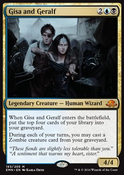 Gisa and Geralf, Eldritch Moon