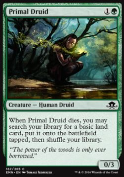 Primal Druid, Eldritch Moon