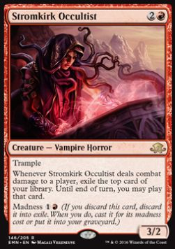 Stromkirk Occultist, Eldritch Moon