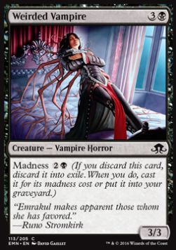 Weirded Vampire, Eldritch Moon