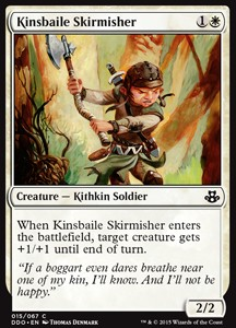 Kinsbaile Skirmisher, Elspeth vs Kiora