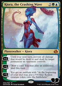 Kiora, the Crashing Wave, Elspeth vs Kiora