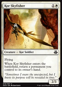 Kor Skyfisher, Elspeth vs Kiora