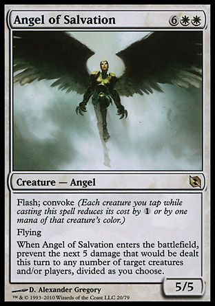 Angel of Salvation, Elspeth vs Tezzeret