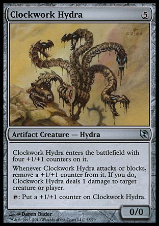 Clockwork Hydra, Elspeth vs Tezzeret