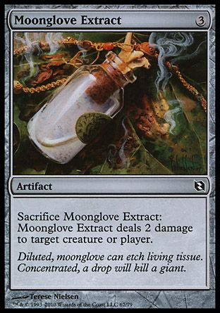 Moonglove Extract, Elspeth vs Tezzeret