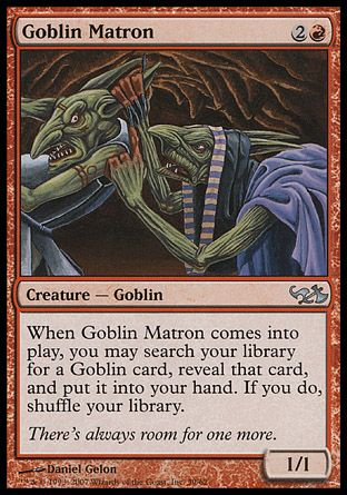 Goblin Matron, Elves vs Goblins