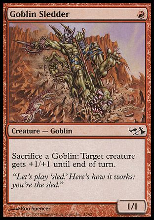 Goblin Sledder, Elves vs Goblins