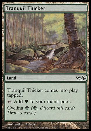 Tranquil Thicket, Elves vs Goblins