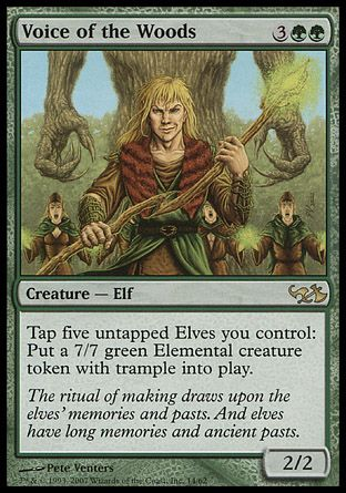Voice of the Woods, Elves vs Goblins