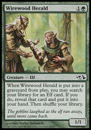Wirewood Herald, Elves vs Goblins