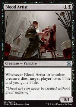 Blood Artist, Eternal Masters