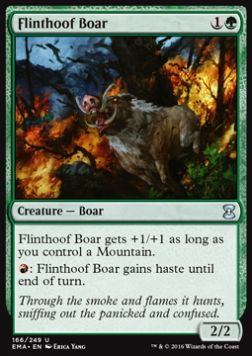 Flinthoof Boar, Eternal Masters