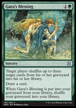 Gaea's Blessing, Eternal Masters
