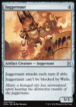 Juggernaut, Eternal Masters