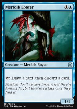 Merfolk Looter, Eternal Masters