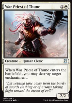 War Priest of Thune, Eternal Masters