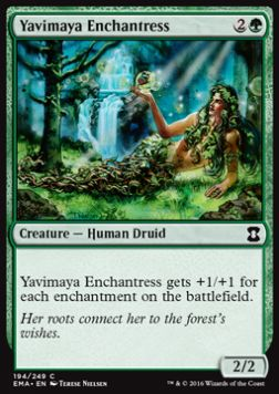 Yavimaya Enchantress, Eternal Masters