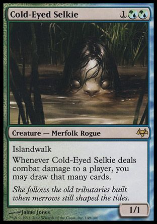 Cold-Eyed Selkie, Eventide