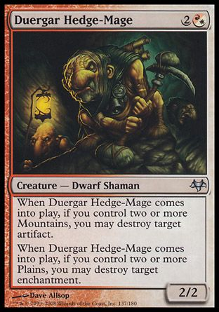Duergar Hedge-Mage, Eventide