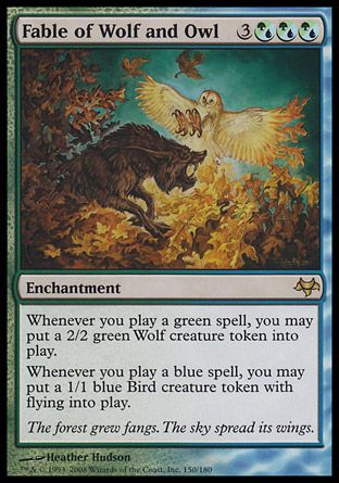 Fable of Wolf and Owl, Eventide