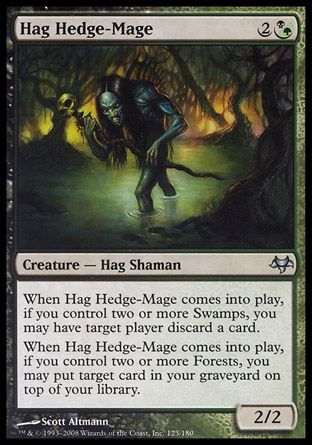 Hag Hedge-Mage, Eventide