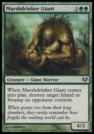 Marshdrinker Giant, Eventide