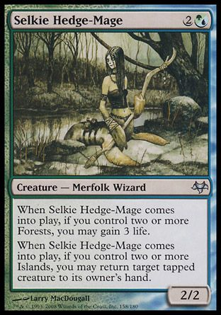 Selkie Hedge-Mage, Eventide