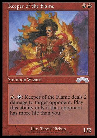 Keeper of the Flame, Exodus