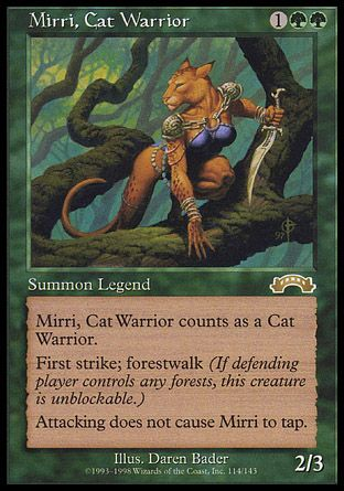 Mirri, Cat Warrior, Exodus