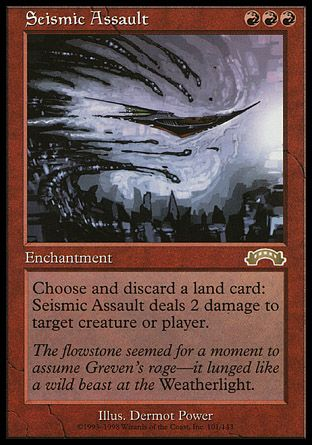 Seismic Assault, Exodus