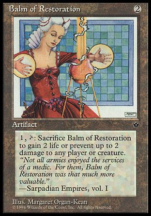 Balm of Restoration, Fallen Empires